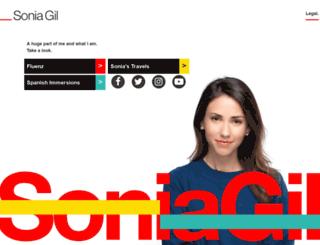 soniagil.com screenshot