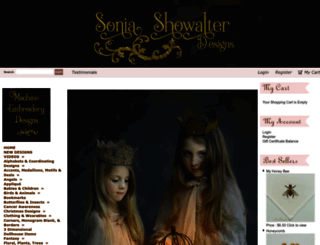 soniashowalterdesigns.com screenshot