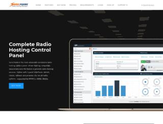 sonicadmin.com screenshot