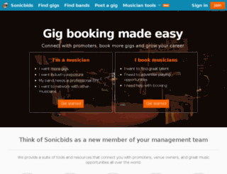 sonichub.com screenshot
