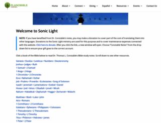 soniclight.com screenshot