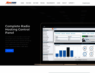 sonicpanel.com screenshot