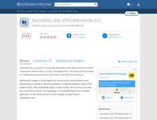 sonicwall-ssl-vpn-netextender.software.informer.com screenshot