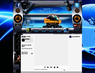 sonideros2000.com screenshot
