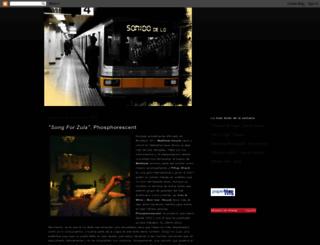 sonidodeloinevitable.blogspot.com screenshot