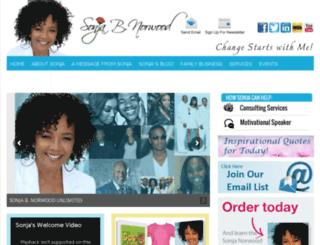 sonjabnorwood.com screenshot