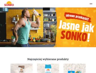 sonko.pl screenshot