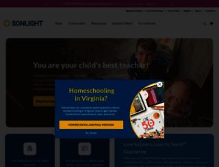 sonlight.com screenshot