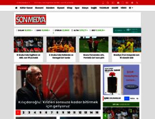 sonmedya.com.tr screenshot