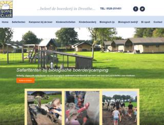 sonneclaer.nl screenshot