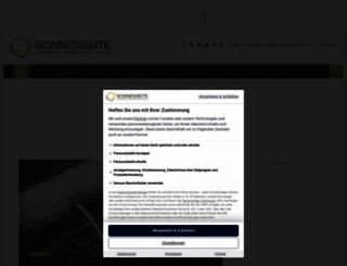 sonnenseite.com screenshot