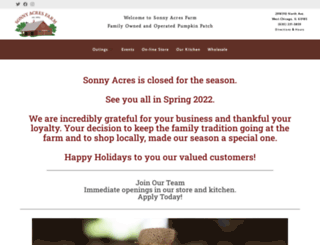 sonnyacres.com screenshot