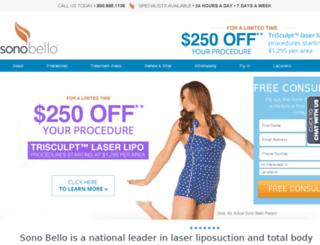 sonobelloface.com screenshot