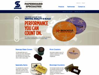 sonocospecialties.com screenshot