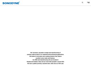 sonodyne.com screenshot