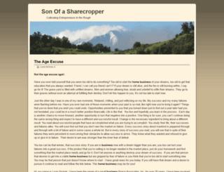 sonofasharecropper.com screenshot