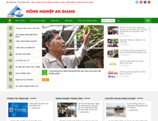 sonongnghiep.angiang.gov.vn screenshot