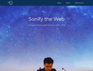 sonoport.com screenshot