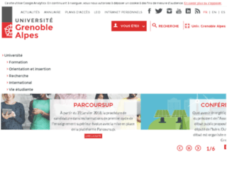 sonora.upmf-grenoble.fr screenshot