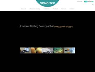 sonotek.com screenshot
