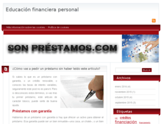 sonprestamos.com screenshot