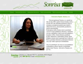 sonrisa.sk screenshot