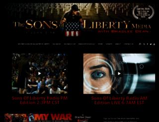 sonsoflibertymedia.com screenshot