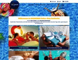 sonthofen-onlineshop.wonnemar.de screenshot