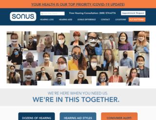 sonus.com screenshot