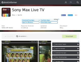 sony-max-live-tv2.droidinformer.org screenshot