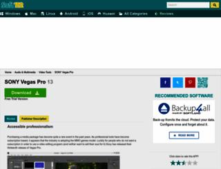 sony-vegas-pro.soft112.com screenshot