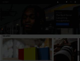 sony.com.sg screenshot