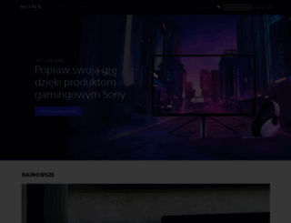 sony.pl screenshot