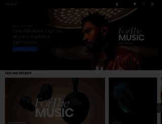 sony.ro screenshot