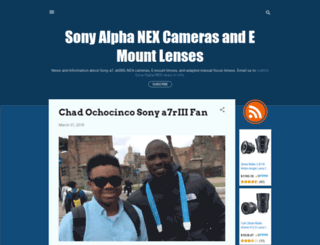 sonyalphanex.blogspot.fr screenshot