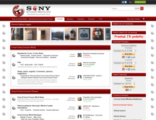 sonyericsson-world.com screenshot
