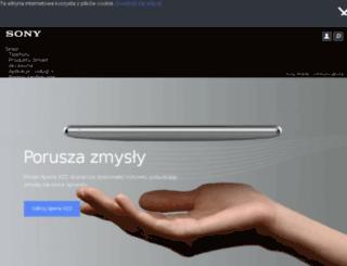 sonyericsson.pl screenshot
