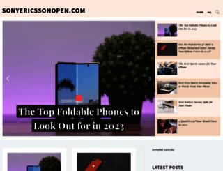 sonyericssonopen.com screenshot