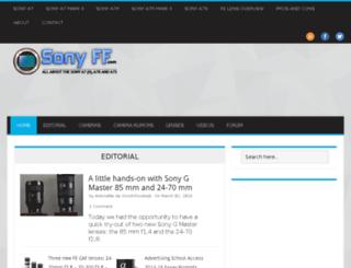 sonyff.com screenshot