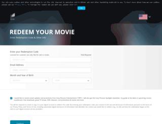 sonypicturesstore.com screenshot