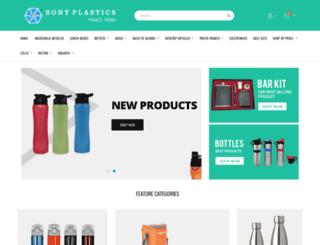 sonyplastics.com screenshot