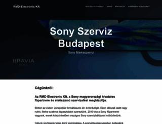 sonyszerviz.hu screenshot