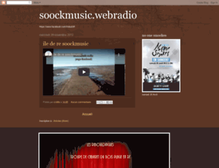 soockmusic.blogspot.fr screenshot