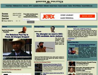 soonerpolitics.org screenshot