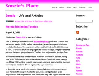 soozie.name screenshot
