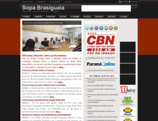 sopabrasiguaia.blogspot.com.br screenshot