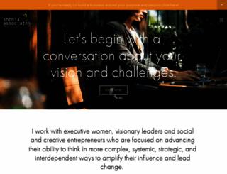 sophia-associates.com screenshot