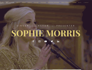 sophie-morris.com screenshot