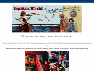 sophiesworld.net screenshot
