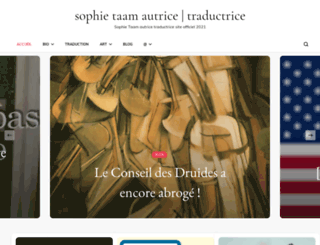 sophietaam.com screenshot